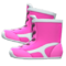 Wrestling Shoes (Pink) NH Icon.png