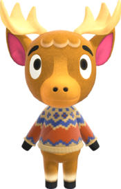 Erik, an Animal Crossing villager.