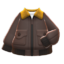 Flight Jacket (Brown) NH Icon.png