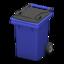 Garbage Bin (Blue)