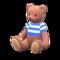 Mama Bear (Caramel Mocha - Blue Stripes) NH Icon.png