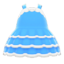 Dollhouse Dress (Sky Blue) NH Icon.png