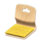 Floor Seat (Light Wood - Mustard Yellow) NH Icon.png