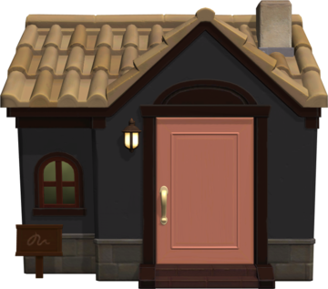 Exterior of Agnes's house in Animal Crossing: New Horizons