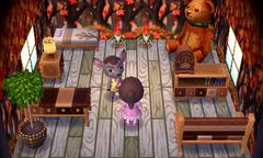 Deirdre's house interior