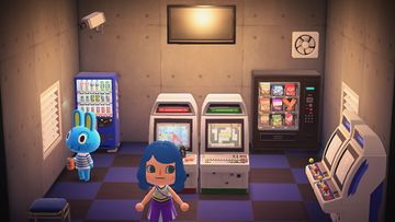 Interior of Hopkins's house in Animal Crossing: New Horizons
