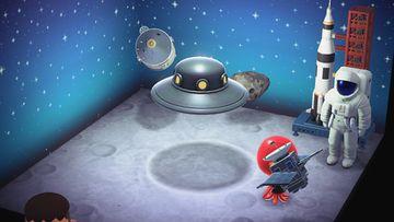 Interior of Octavian's house in Animal Crossing: New Horizons