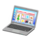 Laptop (Silver - Online Shopping) NH Icon.png