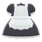 Maid Dress (Black) NH Icon.png
