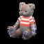Mama Bear (Tweed - Red Stripes)