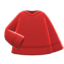 V-Neck Sweater (Red) NH Icon.png