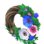 Cool Windflower Wreath