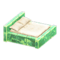 Frozen Bed (Ice Green - White) NH Icon.png