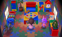 Bob's house interior