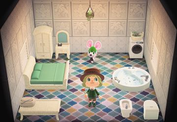 Interior of Bree's house in Animal Crossing: New Horizons
