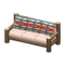 Log Extra-Long Sofa (Dark Wood - Geometric Print) NH Icon.png