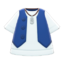 Gilet and Shirt (Blue) NH Icon.png