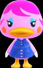 Artwork of Miranda the Duck