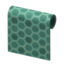 Green Honeycomb-Tile Wall