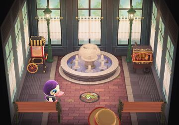 Interior of Gloria's house in Animal Crossing: New Horizons