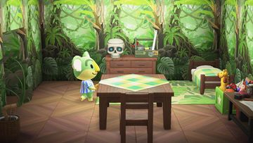 Interior of Lyman's house in Animal Crossing: New Horizons