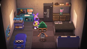 Interior of Sylvia's house in Animal Crossing: New Horizons