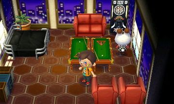 Interior of Tiffany's house in Animal Crossing: New Leaf