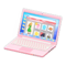 Laptop (Pink - Online Shopping) NH Icon.png
