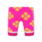 Silk Floral-Print Pants (Pink) NH Icon.png