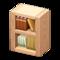 Wooden-Block Bookshelf (Natural) NH Icon.png