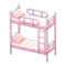 Bunk Bed (Pink - Checkered) NH Icon.png