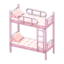 Bunk Bed (Pink - Checkered)