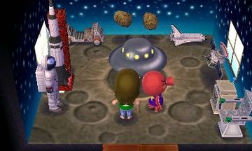 Interior of Octavian's house in Animal Crossing: New Leaf
