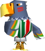 Artwork of Quetzal the Eagle