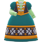 Cold-Country Dress (Green) NH Icon.png