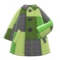 Patchwork Coat (Green) NH Icon.png
