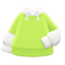 Tee-Parka Combo (Lime) NH Icon.png