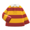 Thick-Stripes Shirt (Yellow & Red) NH Icon.png