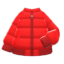 Down Jacket (Red) NH Icon.png