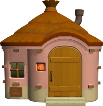 Exterior of Marcie's house in Animal Crossing: New Horizons