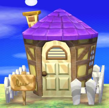Exterior of Tasha's house in Animal Crossing: New Leaf