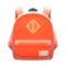 Town Backpack (Orange) NH Icon.png
