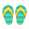 Flip-Flops (Yellow) NH Icon.png