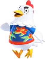 Artwork of Goose the Chicken