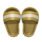 Shower Sandals (Gold) NH Icon.png