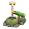 Deer Scare (Green Bamboo) NH Icon.png