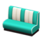 Diner Sofa (Aquamarine) NH Icon.png
