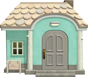 Exterior of Whitney's house in Animal Crossing: New Horizons