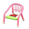 Baby Chair (Pink - Train) NH Icon.png
