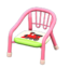 Baby Chair (Pink - Train)